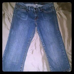 Hot kiss Capri jeans size 11 super.soft EUC